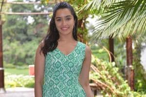 Shraddha Kapoor at a photoshoot during the promotions of her upcoming film Batti Gul Meter Chalu in New Delhi.