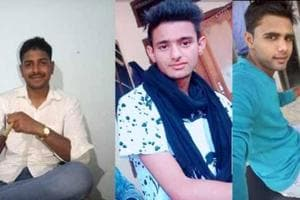 (From left to right)Pankaj, Manish and Nishu are the prime accused in the gangrape of a 20-year-old woman in Haryana's Rewari.