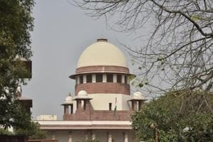 A view of Supreme Court in New Delhi.
