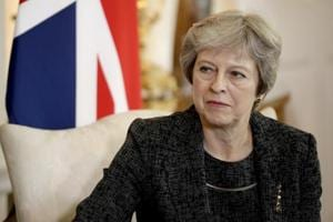 Prime minister Theresa May used an interview to mark the six-month countdown to Brexit to convey her irritation at speculation in her party about her future, while London mayor Sadiq Khan called for another referendum on EU membership.
