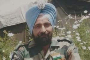 File photo of Hardeep Singh who was shot dead by his colleague.