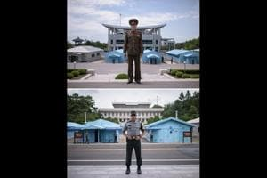 Photos| Parallel lives: opposites and echoes either side of Korea's DMZ