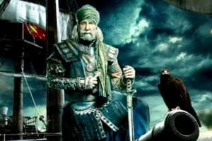 Thugs of Hindostan motion poster: Amitabh Bachchan as Khudabaksh, the captain of thugs, is fierce and unyielding.