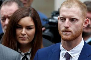 FILE PHOTO: England cricket player Ben Stokes outside Bristol Crown Court in Bristol, Britain, August 14, 2018. REUTERS/Peter Nicholls/File Photo