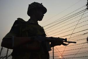 Pakistan on Tuesday opened fire at a few locations on the Indian side, including a few BSF posts.