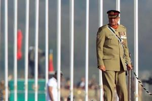 Pakistan Army chief Gen Qamar Javed Bajwa (pictured) arrived at Beijing on a three-day official visit on Sunday.