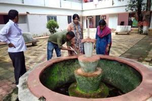 Health department team found Dengue and Chikungunya larva at RIMS hospital premises in Ranchi, India, on Monday, September 10, 2018.