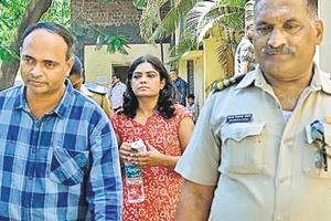 Dr Vijaykumar Chougule (left) was arrested early on Tuesday and remanded in police custody, while Dr Rupali Chougule, a gynaecologist and wife of the arrested doctor, was remanded to five days in police custody on Monday by a local court in Sangli.