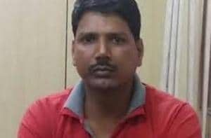 Preliminary investigations revealed that Achyutanand Mishra (pictured) shared crucial information about the armed forces and the movement of troops with the 'woman'. He also used to chat with her over WhatsApp.