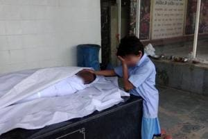 A photograph this reporter had tweeted on Monday of Anil's son, Gaurav, 11, weeping next to his father's body at a Delhi crematorium, had moved the Twitterati to raise the money for the family.