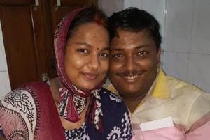 Narayan Kesari and Suman Kesari of Varanasi have decided to name their newborn after PMModi as the baby was born on September 17,  Modi's birthday.