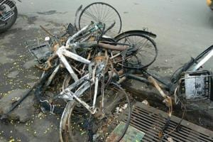 Operators bat for better police action for bicycle vandalism.