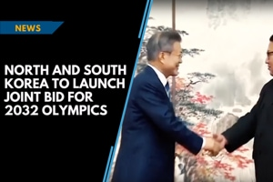 North and South Korea to launch joint bid for 2032 Olympics