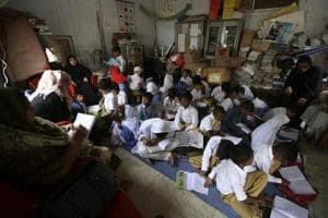 Fourteen schools, most of them for girls, were set ablaze on the same night, over the span of just an hour in Gilgit-Baltistan, a mountainous territory stretching across northern Pakistan.