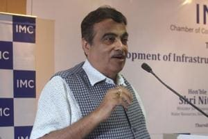 Risk-averse bankers are slowing construction of infrastructure projects in India, Nitin Gadkari, the country's minister for road transport and highways, said.