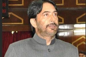 J&K Congress chief Ghulam Ahmad Mir (pictured) said if Congress is voted to power, it will build consensus to address concerns regarding Article 35A as per legislation of the state.