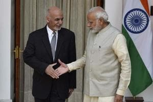 The project was discussed at a meeting between Afghan President Ashraf Ghani and PM Narendra Modi in New Delhi on Wednesday.