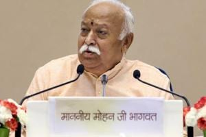 Asked if the RSS supports the idea of an ordinance to pave way for the construction of Ram temple in Ayodhya, Mohan Bhagwat said the issue rests with the government.