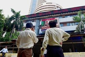 Market benchmark BSE Sensex fell further by 169.45 points to end at a near two-month low of 37,121.2.