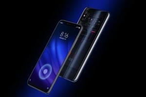 Xiaomi Mi 8 Pro features an in-display fingerprint sensor, transparent back like the Explorer Edition.