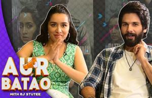 Aur Batao | Shraddha Kapoor and Shahid Kapoor ft. Batti Gul Meter Chalu