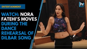 Watch: Nora Fatehi's moves during the dance rehearsal of Dilbar Song