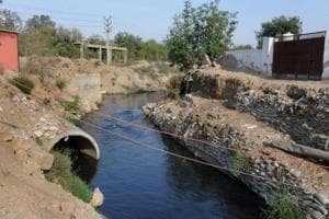 The drain is planned to ease the load on Badshahpur drain, which narrows down near National Highway-48, leading to water-logging at Khandsa and Hero Honda Chowk.