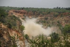 The entire Aravalli range was supposed to come under the Natural Conservation Zone.