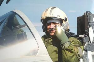 Air Marshal Nambiar flew the first Rafale fighter jet manufactured by Dassault Aviation for India.