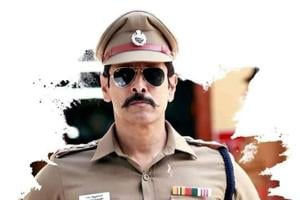 Vikram plays a character called Ramasamy, son of Aarusamy of 2003's Saamy.
