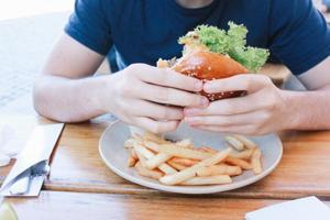The addictive qualities of tobacco, drugs or alcohol affect the brain similarly and cutting back can lead to negative side effects. Junk food also has a similar effect on the brain.