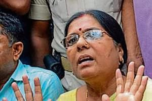An FIR was registered against Manju Verma and her husband under the Arms Act in August.