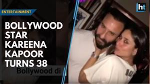 Bollywood star Kareena Kapoor turns 38