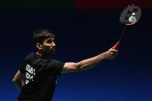 File picture of India's Kidambi Srikanth