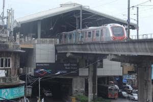 According to Mumbai Metro One Pvt Ltd (MMOPL), the time gap between trains has been reduced from 8 minutes to 5 minutes between 11:30am and 4:30pm.