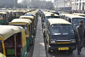 The transport department rules mandate that permits be given only to drivers with a good moral character and no criminal record in the past one year.
