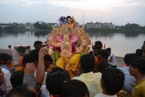 The ongoing Ganesh festival will culminate with immersion processions across the state on Sunday.