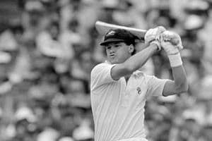 Dean Jones was the star with the bat for Australia