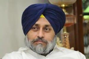 Shiromani Akali Dal president Sukhbir Singh Badal.