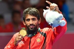 File picture of Bajrang Punia