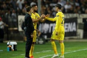 Soccer Football - Europa League - Group Stage - Group L - PAOK Salonika v Chelsea - Toumba Stadium, Thessaloniki, Greece - September 20, 2018 Chelsea