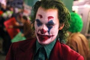 Three-time Oscar nominee Joaquin Phoenix as the Joker.