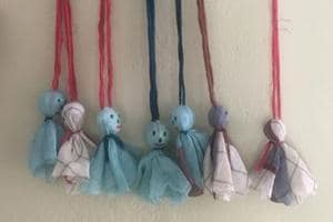 A tiny handmade doll made out of soiled and damaged fabric has become a symbol of survival and hope for a group of weavers, whose dreams and livelihood were washed away by the loods last month in Kerala.