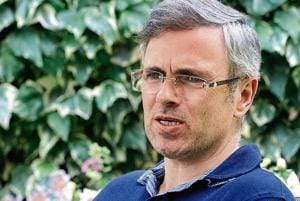 Omar Abdullah, vice president, National Conference, and former chief minister of Jammu & Kashmir