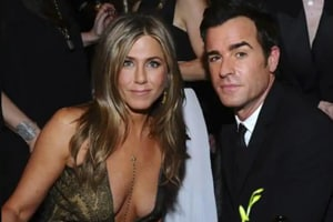 Jennifer Aniston and Justin Theroux were married for two years.