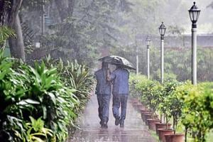 The rain brought the mercury down by 6.4 degrees Celsius, five notches below the season's average.