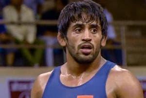 File photo of wrestler Bajrang Punia