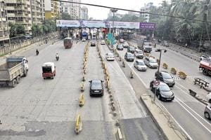 The exemption of toll had eased traffic in the city to some extent.