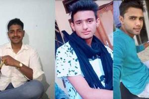 The three main accused in Rewari gangrape case -- Pankaj, Manish and Nishu.