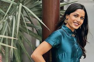 Actor Freida Pinto made her acting debut with the 2008 film Slumdog Millionaire.